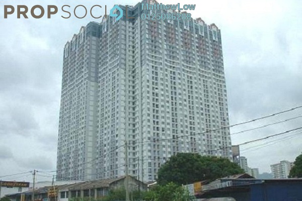 For Rent Condominium at BJ Court, Bukit Jambul Freehold Fully Furnished 3R/2B 1k