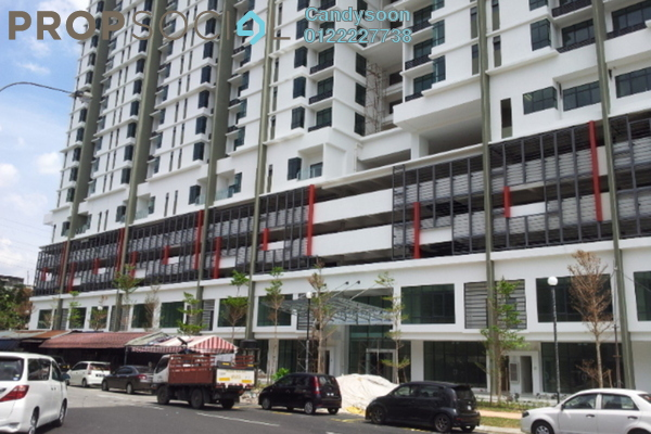 For Sale Serviced Residence at Amaya Maluri, Cheras Leasehold Fully Furnished 3R/2B 638k