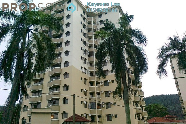 For Rent Apartment at Eden Fairway, Batu Ferringhi Freehold Fully Furnished 3R/2B 1.55k