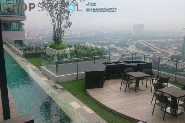 For Sale Condominium at The Leafz, Sungai Besi Freehold Semi Furnished 3R/2B 718k