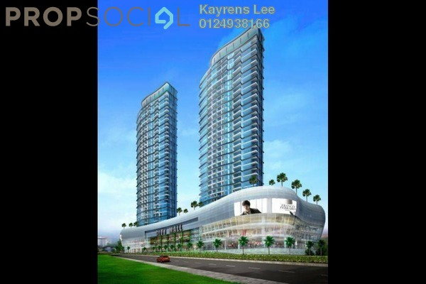 For Sale Condominium at City Residence, Tanjung Tokong Freehold Unfurnished 3R/4B 1.87m