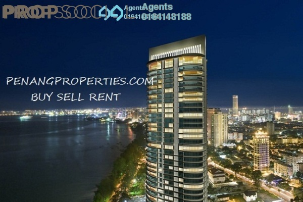 For Rent Condominium at Gurney Paragon, Gurney Drive Freehold Fully Furnished 3R/3B 7k