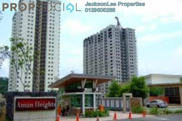 For Sale Condominium at Aman Heights, Seri Kembangan Freehold Semi Furnished 3R/2B 500k
