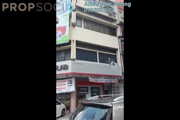 For Sale Shop at Taman Maluri, Cheras Leasehold Semi Furnished 0R/0B 7m
