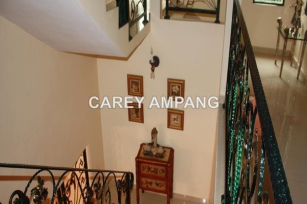 For Rent Bungalow at Taman Hillview, Ukay Freehold Semi Furnished 5R/6B 9k