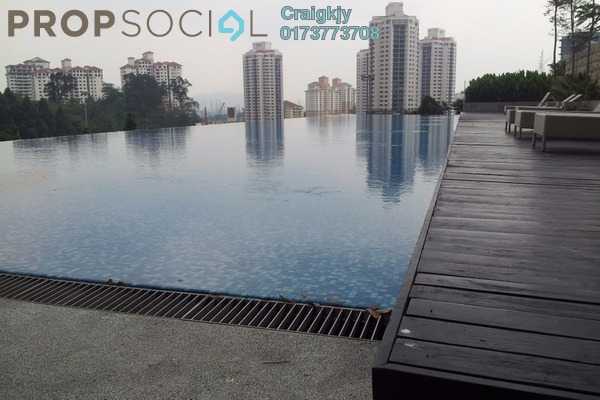 For Rent Condominium at Lumina Kiara, Mont Kiara Freehold Fully Furnished 3R/2B 5k