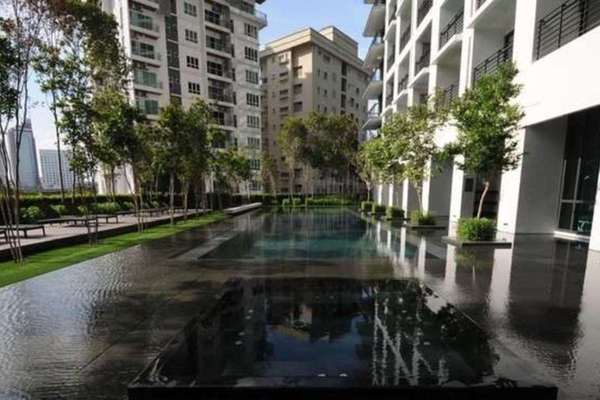 For Rent Condominium at Hampshire Place, KLCC Leasehold Semi Furnished 2R/2B 6k