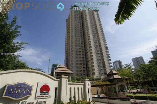 For Rent Condominium at Mont Kiara Aman, Mont Kiara Freehold Unfurnished 3R/2B 6k