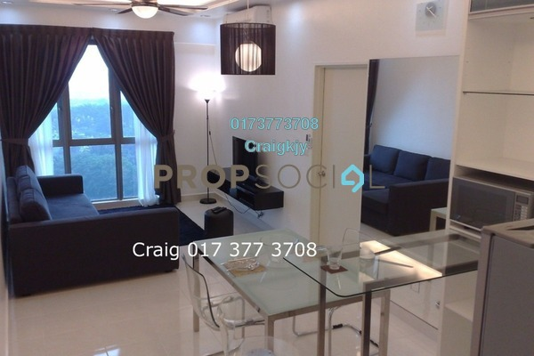 For Rent Condominium at Tropicana City Tropics, Petaling Jaya Freehold Fully Furnished 2R/2B 2.3k