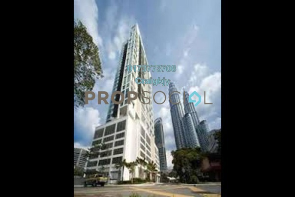 For Rent Condominium at The Meritz, KLCC Freehold Fully Furnished 2R/2B 5.5k