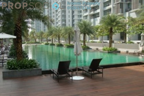 For Rent Condominium at Seni, Mont Kiara Freehold Semi Furnished 4R/2B 9.5k
