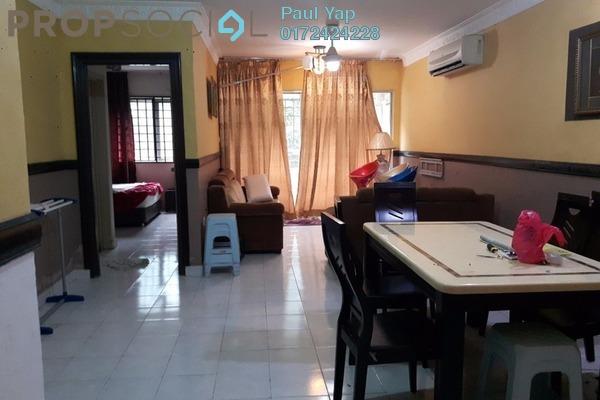 For Sale Apartment at Flora Damansara, Damansara Perdana Leasehold Fully Furnished 3R/2B 229k