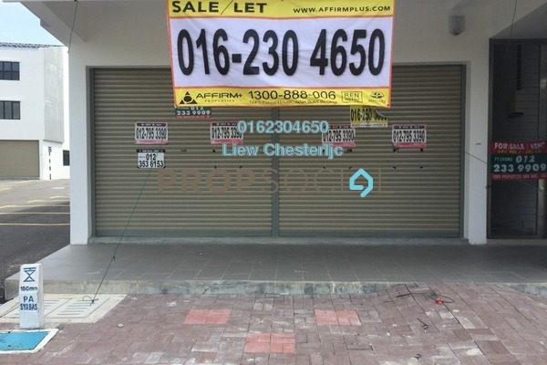 For Sale Shop at Setia Taipan, Setia Alam Freehold Unfurnished 0R/0B 2.6m