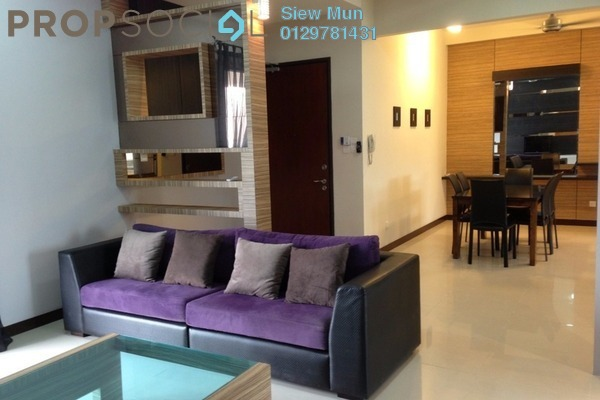 For Rent Condominium at Nautica Lake Suites @ Sunway South Quay, Bandar Sunway Leasehold Fully Furnished 3R/3B 4k