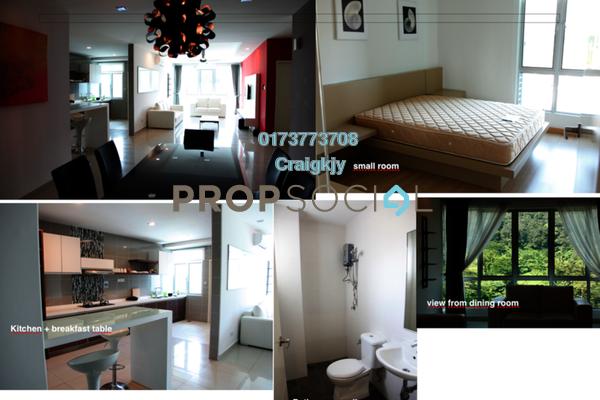 For Rent Condominium at Aston Kiara 3, Mont Kiara Freehold Fully Furnished 3R/2B 2.5k