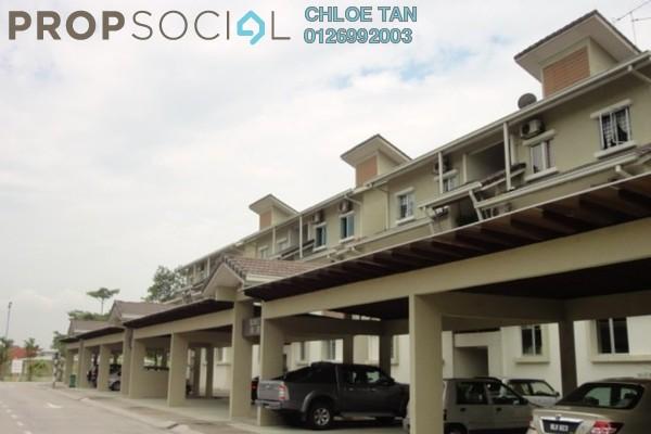 For Rent Townhouse at Meranti Terrace, Kota Kemuning Freehold Semi Furnished 3R/2B 1.2千