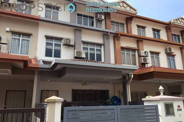 For Sale Terrace at Taman Tasik Prima, Puchong Leasehold Semi Furnished 5R/4B 755k