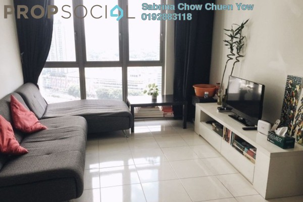 For Rent Apartment at Tropicana City Tropics, Petaling Jaya Freehold Fully Furnished 2R/2B 2k
