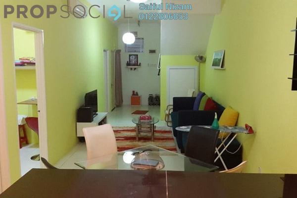 For Sale Townhouse at Pearl Villa, Bandar Saujana Putra Leasehold Semi Furnished 3R/2B 385.0千