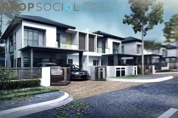 For Sale Semi-Detached at Avanti Residences, Sungai Buloh Leasehold Unfurnished 6R/6B 1.11m