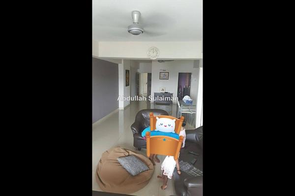 For Sale Condominium at Pandan Villa, Pandan Indah Leasehold Semi Furnished 3R/2B 480k