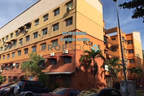 For Sale Apartment at Taman Klang Jaya, Klang Freehold Unfurnished 3R/2B 165k