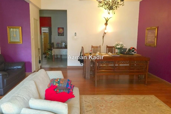 For Sale Terrace at Section U9, Shah Alam Leasehold Semi Furnished 3R/3B 728k