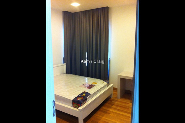 For Rent Condominium at Lumina Kiara, Mont Kiara Leasehold Semi Furnished 3R/3B 5k