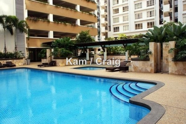 For Rent Condominium at Ceriaan Kiara, Mont Kiara Leasehold Fully Furnished 3R/3B 4.2k