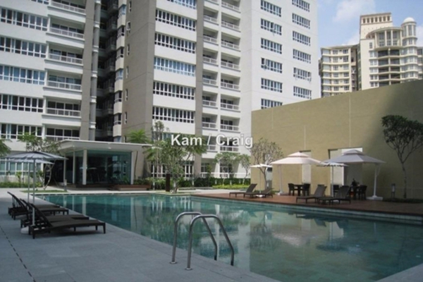 For Rent Condominium at Tiffani Kiara, Mont Kiara Freehold Fully Furnished 3R/2B 4.5k