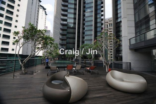 For Sale Condominium at The Troika, KLCC Leasehold Semi Furnished 4R/5B 3.68m