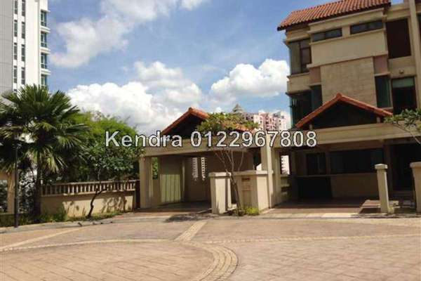 For Sale Villa at Kiara Hills, Mont Kiara Freehold Semi Furnished 5R/6B 3.6m
