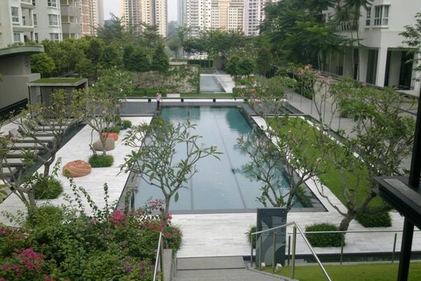 For Sale Condominium at Hijauan Kiara, Mont Kiara Freehold Semi Furnished 4R/3B 1.86m