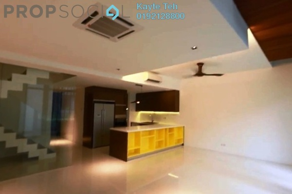 For Rent Townhouse at The Capers, Sentul Freehold Semi Furnished 5R/5B 5k
