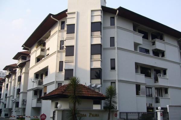 For Sale Condominium at Desa Palma, Ampang Hilir Freehold Semi Furnished 3R/2B 1.55m