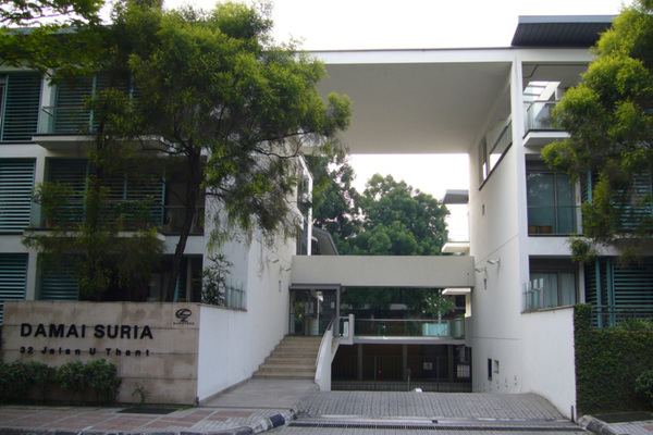 For Sale Condominium at Damai Suria, Ampang Hilir Freehold Semi Furnished 3R/2B 1.93m