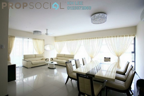 For Sale Serviced Residence at Saujana Residency, Subang Jaya Freehold Fully Furnished 3R/3B 1.45m