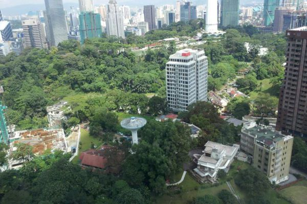 For Rent Condominium at Verticas Residensi, Bukit Ceylon Freehold Semi Furnished 2R/1B 5k
