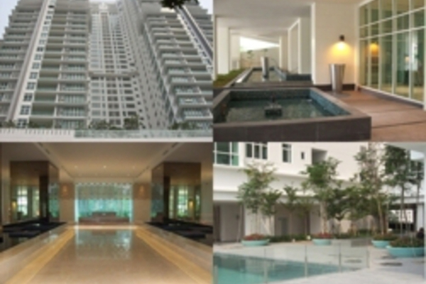For Rent Condominium at The Pearl, KLCC Freehold Semi Furnished 3R/2B 8k