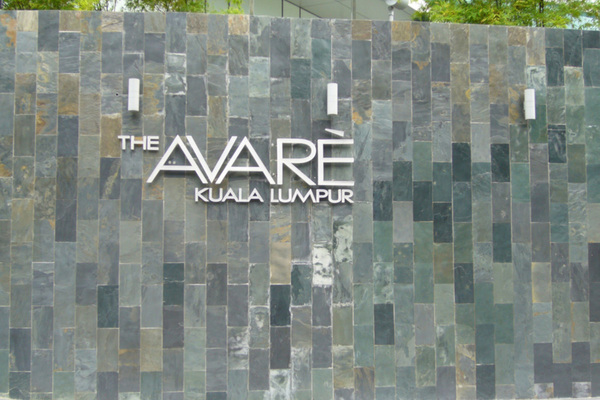 For Rent Condominium at The Avare, KLCC Freehold Semi Furnished 4R/2B 12k