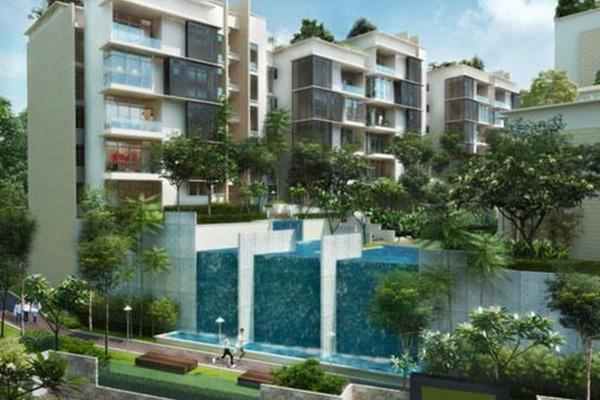 For Rent Condominium at Sri Bukit Tunku, Kenny Hills Freehold Semi Furnished 4R/2B 16k