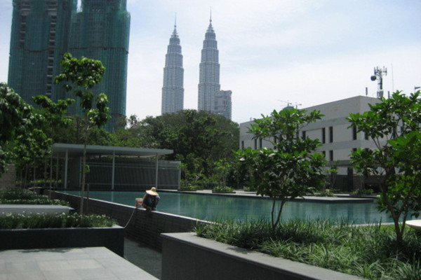 For Rent Condominium at Dua Residency, KLCC Freehold Unfurnished 3R/2B 8.0千