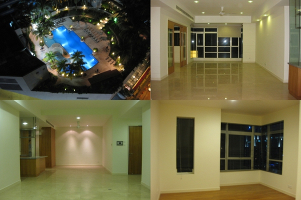 For Rent Condominium at Binjai Residency, KLCC Freehold Semi Furnished 3R/2B 8.3k