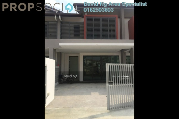 For Rent Terrace at Nahara, Bandar Bukit Raja Freehold Unfurnished 4R/3B 1.2k