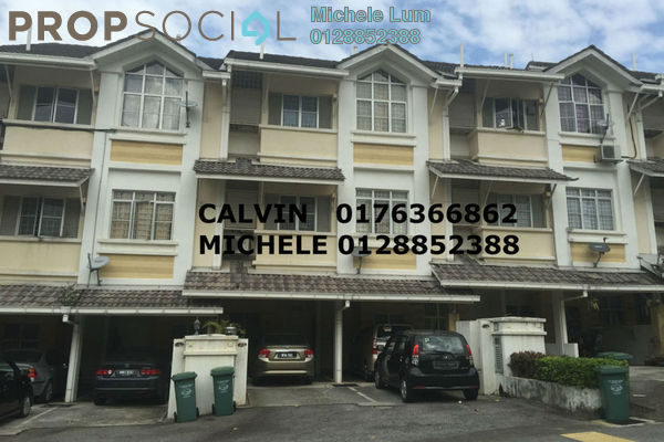 For Sale Townhouse at Precinct 16, Putrajaya Freehold Semi Furnished 3R/3B 470k