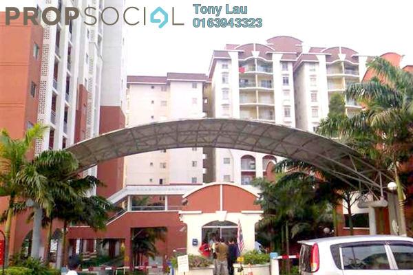 For Rent Condominium at Ketumbar Hill, Cheras Freehold Fully Furnished 3R/2B 1.4k