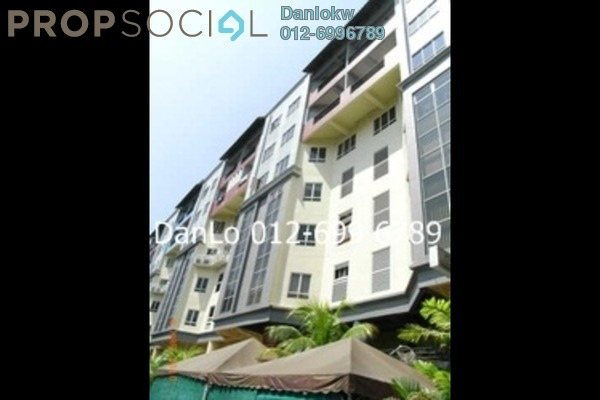 For Rent Condominium at D-Villa Residence, Ampang Hilir Freehold Fully Furnished 1R/1B 3k