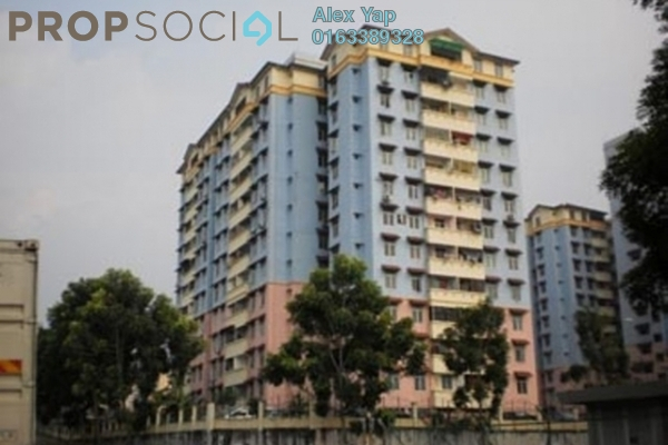 For Sale Apartment at Cheras Utama Apartment, Cheras South Leasehold Unfurnished 3R/2B 100k