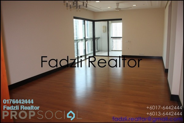 For Sale Condominium at The Binjai On The Park, KLCC Freehold Semi Furnished 3R/3B 5.57m