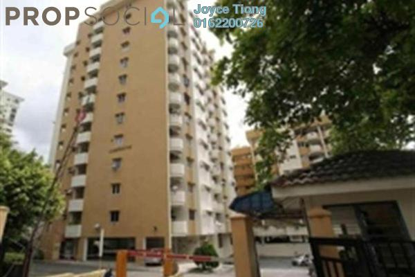 For Rent Condominium at Meadow Park 2, Old Klang Road Freehold Semi Furnished 3R/2B 1.1k